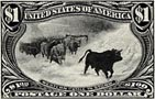 Cattle in a Storm - Engraving at it's Finest