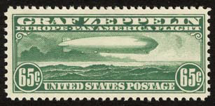 The 65¢ Graf Zeppelin Stamp