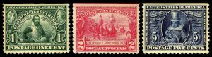 The Jamestown Issue of 1907