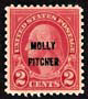 The 2¢ Molly Pitcher