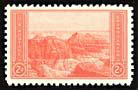 The 2¢ National Park Stamp