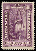 The High Value Newspaper Stamp