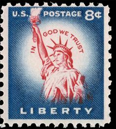 First Stamp of the Liberty Issue