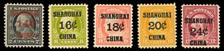 "A Sampling of the Shanghai ""Offices Abroad"" Stamps"